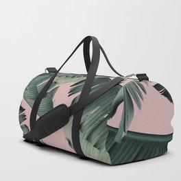 Banana Leaf Blush Duffle Bag