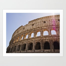 When In Rome I Art Print