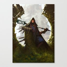 Scavenger Heroes series - 8 Canvas Print
