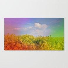 Magical spring Canvas Print