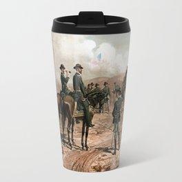 General Sherman Observing The Siege of Atlanta Travel Mug
