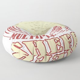 Sheep Lovers I Have MSS Multiple Sheep Syndrome Floor Pillow