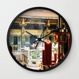 Mengjia Longshan Temple (1) Wall Clock