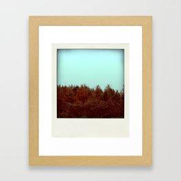 Autumnal smell Framed Art Print