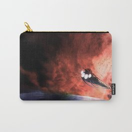 The Intrepid arrives at Carthage Carry-All Pouch