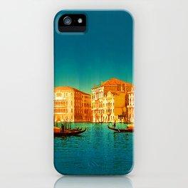 Venice Italy Vintage Original Painting iPhone Case
