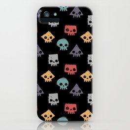 Skull Shapes iPhone Case