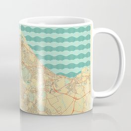 Edinburgh Map Retro Coffee Mug