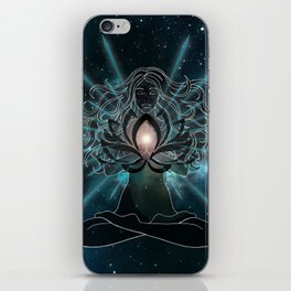 Emanate love Chakra iPhone Skin