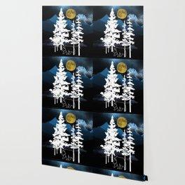 Full Moon Rising II Wallpaper