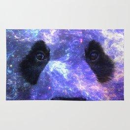 Galaxy Panda Space Colorful Rug