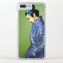 801 MODERN SAMURAI Clear iPhone Case