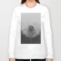 dandelion Long Sleeve T-shirts featuring Dandelion by Kiwie Ordieres
