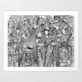 Anomalies I  Art Print