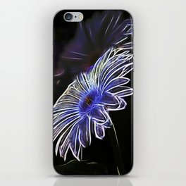 abstract daisy iPhone Skin