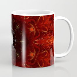 Festive Window Mandala Abstract Design Coffee Mug