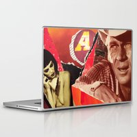 western Laptop & iPad Skins featuring Spaghetti Western by Joel Lambeth