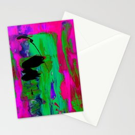 Abstraction Wonder No.2k by Kathy Morton Stanion Stationery Cards