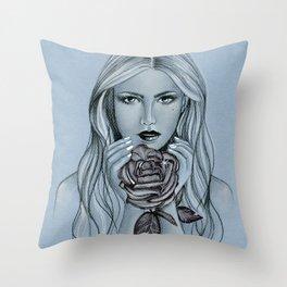 Blackroses 1 Throw Pillow