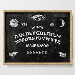 Black Ouija Serving Tray