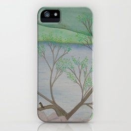 Banks of the Canal iPhone Case