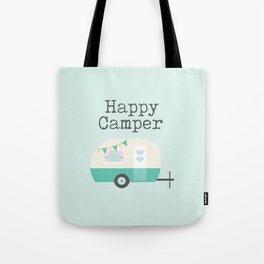 Happy Camper Minty Fresh Tote Bag