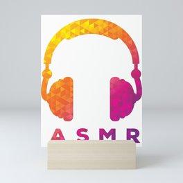 ASMR product Retro Vintage Autonomous Sensory Meridian Gift Mini Art Print