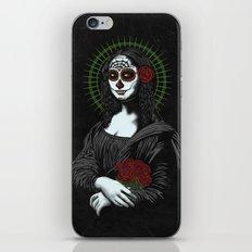 Viva La Mona Muerte Lisa iPhone & iPod Skin