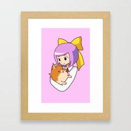 best friend Framed Art Print