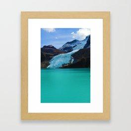 Berg Glacier in Mount Robson Provincial Park BC Framed Art Print