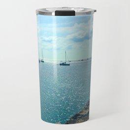 Mediterranean Sea Off of Menorca Travel Mug