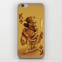 King  David Card iPhone Skin