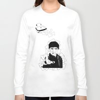 merlin Long Sleeve T-shirts featuring Print Merlin by MeMRB