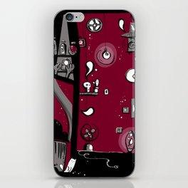Dark toy iPhone Skin