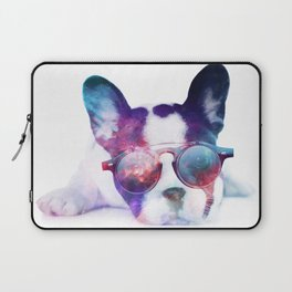 Space Frenchie  Laptop Sleeve