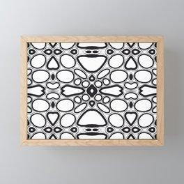 fancy grid Framed Mini Art Print