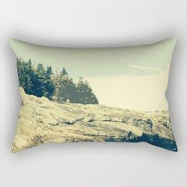 Ocean Point, East Boothbay Rectangular Pillow