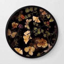 September Evenings Wall Clock