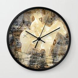 X brand Wall Clock