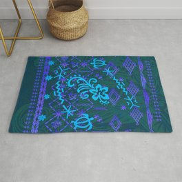 Simple And Powerful Samoan Malu Designs Rug