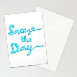 Sneeze The Day Stationery Cards
