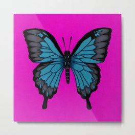 Ulysses Butterfly Metal Print