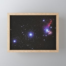 Beautiful Sky Galaxy Framed Mini Art Print