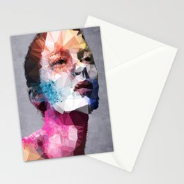 Massive Moment of Memory - Kubistika by Boris Draschoff Stationery Cards