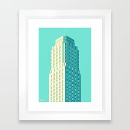 San Francisco Towers - 04 - Central Tower Framed Art Print