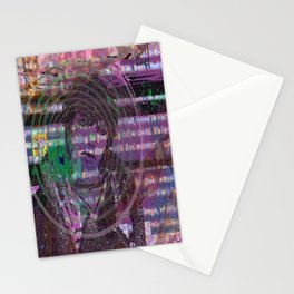 Mange Moi (and An Olde Face In Cyber Hell) [Recombinant Series] Stationery Cards