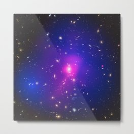 1883. Dark Matter is Darker Than Once Thought Metal Print
