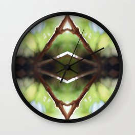 Nature Kaleidocope #10 Wall Clock