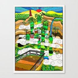 Zhangjiajie Canvas Print
