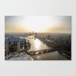 View from the Eye Canvas Print